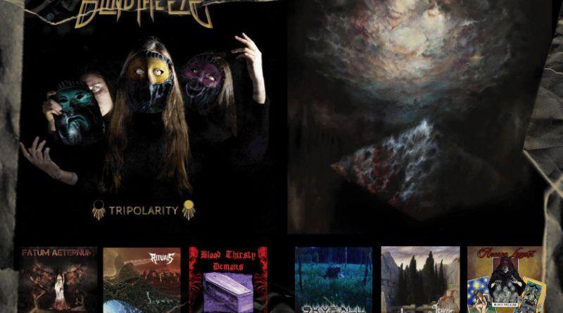 WOM Reviews – Blind The Eye / Blaze Of Sorrow / Fatum Aeternum / Skyfall / Rituals / Lesath / Blood Thirsty Demons / Black Vatican