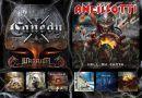 WOM Reviews – Canedy / Ancillotti / Ancient Curse /  Venator / Angel Blade / Warleggion / Angband / Stormburst / Seventh Sign From Heaven