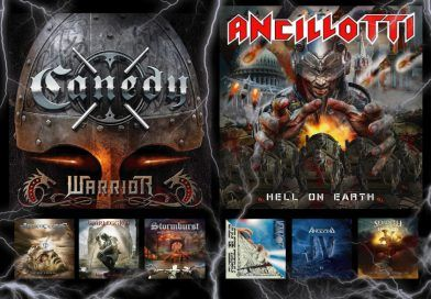 WOM Reviews – Canedy / Ancillotti / Ancient Curse /  Venator / Angel Blade / Warleggion / Angband / Stormburst / Seventh Sign From Heaven