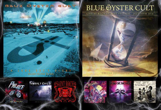 WOM Reviews – Blue Öyster Cult / Palace / Magic Dance / Unruly Child / NON / Saint Roch / Vapourtrail