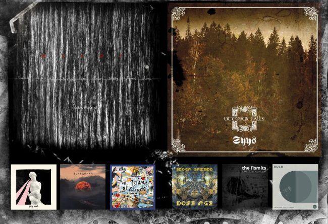 WOM Reviews – Taumel / October Falls / Alexander / Gong Wah /  Iboga Gazebo / Fistmits / SJ Denney / Bulb