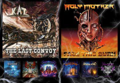 WOM Reviews – Kat / Holy Mother / Stormwind / Marco Garau's Magic Opera / Blitzkrieg / Avaland / Cristiano Filippini's Flames Of Heaven / Helstar