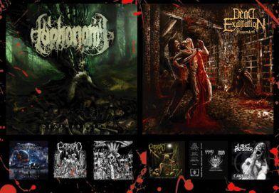 WOM Reviews – Taphonomy / Dead Exaltation / Death Conspiracy / Podridão / Sepulchral Whore / Zebú / Lyric Butcher