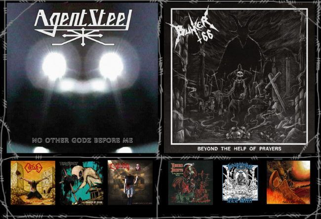 WOM Reviews – Agent Steel / Bunker 66 / Refore / Morbid Breath / Nuclear / Whipstriker / Ice War / Lockfist 669 / Troberoth