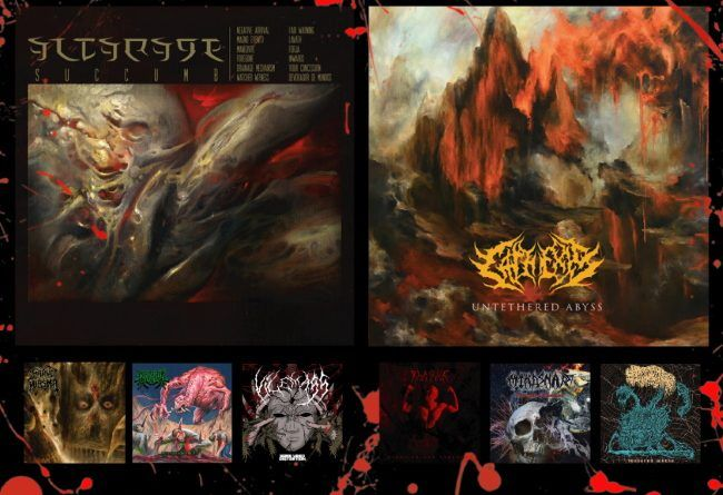 WOM Reviews – Altarage / Cathexis / Grave Miasma / Plague Of The Fallen / Kryptik Mutation / Mindsnare / Vilemass / Sanguisugabogg