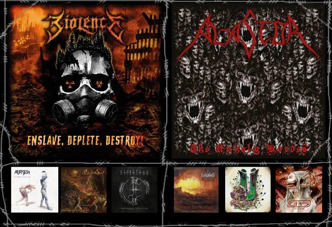 WOM Reviews – Biolence / Alastor / Reaktion / Black Hosts / The Day Of The Beast / Mütherload / Sterbhaus / CRS