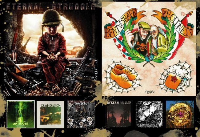 WOM Reviews – Eternal Struggle / Bent Out Of Shape / The Boldness / Wednesday 13 / Ryker's / The Eulogy / Not Moving / Last Agony / TakeBack / Paperoga