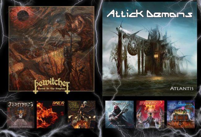 WOM Reviews – Bewitcher / Attick Demons / Temtris / Rhapsody Of Fire / Razor / Ironbound / Reina Negra / Trick Or Treat