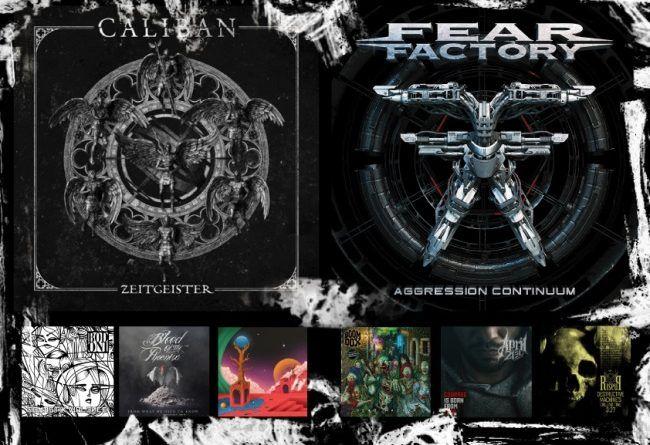 WOM Reviews – Caliban / Fear Factory / Bodoni / Boom Dox / Blood Of The Phoenix / April 21st / To Octavia / Riseup