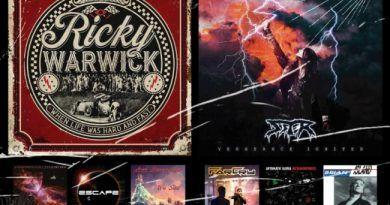 WOM Reviews – Ricky Warwick / Sister / When Frames Collide / FarCry / Escape / Automatic Kafka / Avi Rosenfeld / Brian Island