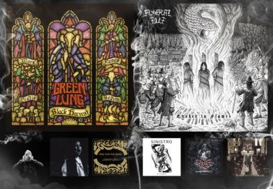 WOM Reviews – Green Lung / Funeral Pile / Oenos / Sinistro / Redemptus / Blackoutt / Trouble / Abysmal Grief